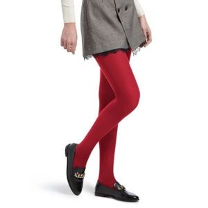 a new day Opaque Red Tights.
